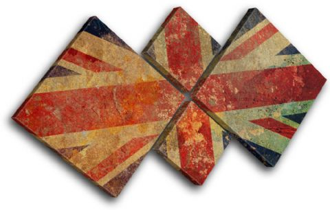Union Jack Maps Flags - 13-1063(00B)-MP19-LO
